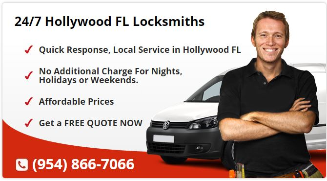 24 Hour Locksmith Hollywood FL
